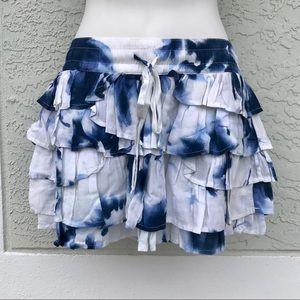 Gilly Hicks Tie Dye Skirt